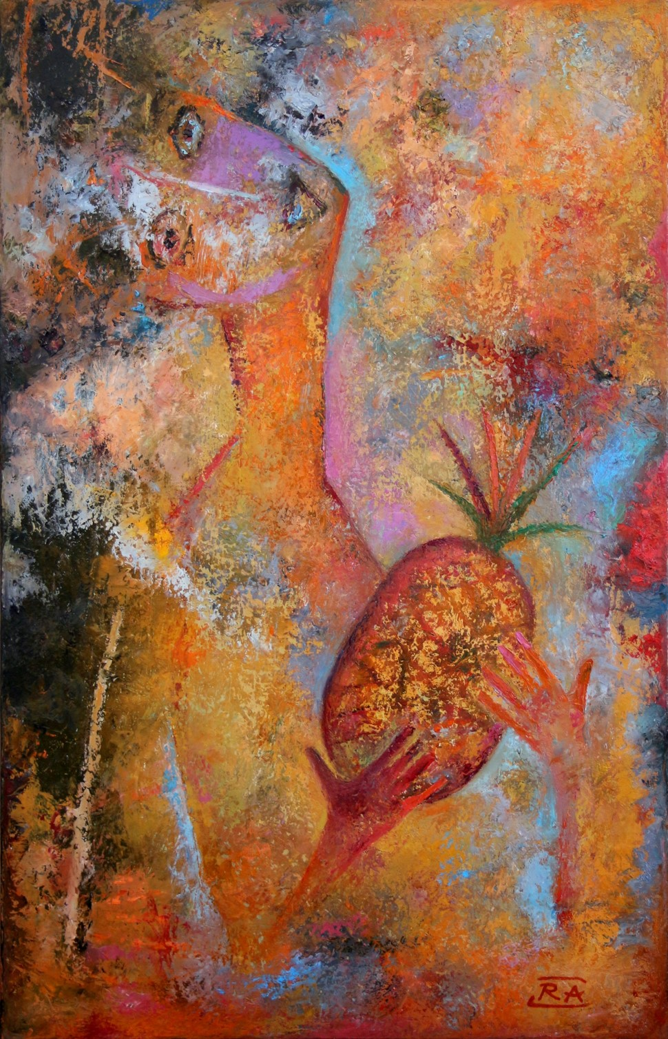 Pineapple lover 45x70
